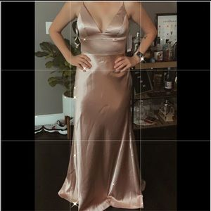 NWT Nordstrom Champagne Dress